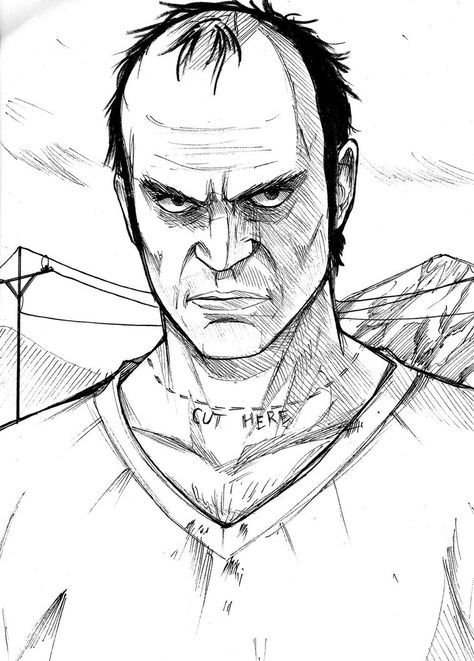 trevor phillips by thefresco drawing ideas grand theft auto gta Cheate GTA Game trevor phillips by thefresco trevor philips san andreas gta 5 video game art