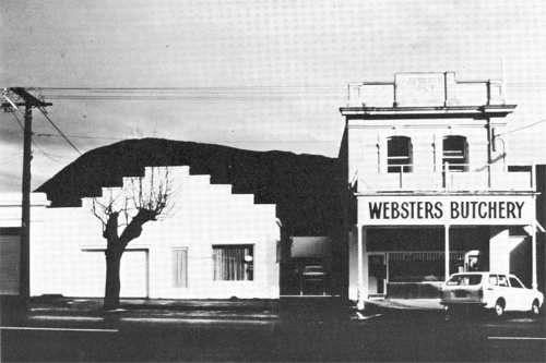 ROBIN MORRISON Websters Butchery, Picton