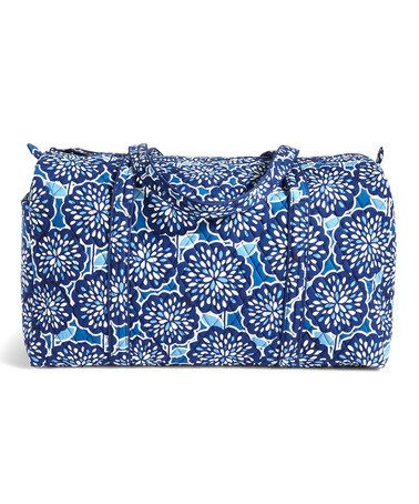 vera bradley.  it's washable and carry-on size.  Loving this Petal Splash Large Duffel Bag on #zulily! #zulilyfinds