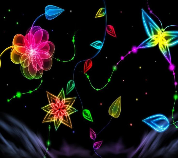 Bright Neon Backgrounds | Bright Colors N E O N