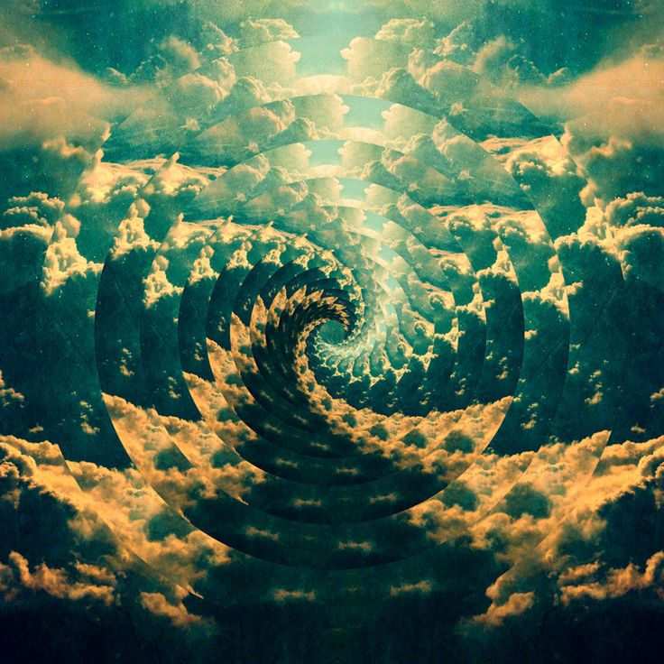 22 best Psychedelic Art & Other Trippy Things images on Pinterest ... | title | trippy clouds tumblr