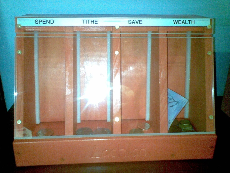 1000 images about tithing box on pinterest diy piggy for 4 compartment piggy bank