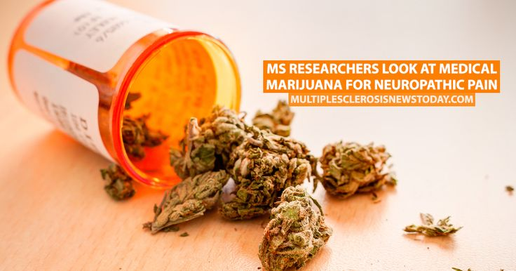 MS Researchers Look at Medical Marijuana for Neuropathic Pain