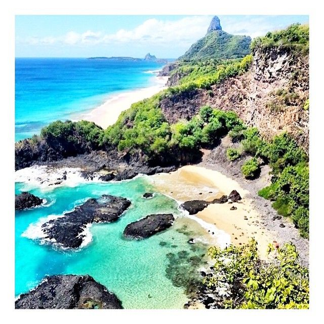 Fernando de Noronha Brasil <3 definitely worth a visit! Swims with giant Turtles and home to the largest population of Spinner Dolphins in the world <3 #VidaGlow #MarineCollagen #Health #Fitness #Hair #Skin #Nails #Natural #AntiAgeing #Skincare #Nourish #Love vidaglow.co
