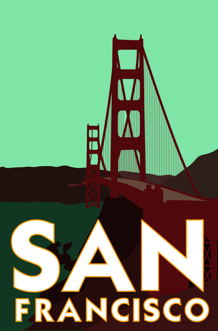 17 best images about san francisco posters on pinterest for Buy art san francisco