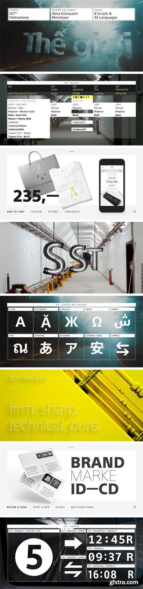SST Vietnamese Font Family
