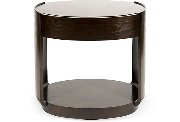 Barbara Barry Oval End Table on OneKingsLane.com