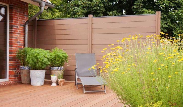 die besten 25 zaunelemente kunststoff ideen auf pinterest. Black Bedroom Furniture Sets. Home Design Ideas