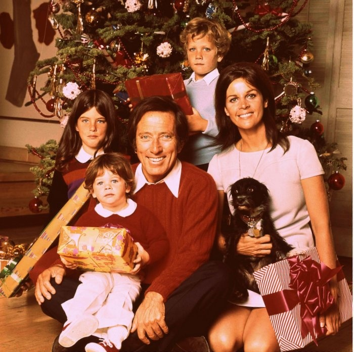 The Andy Williams Christmas show, with his beautiful wife Claudine Longet.