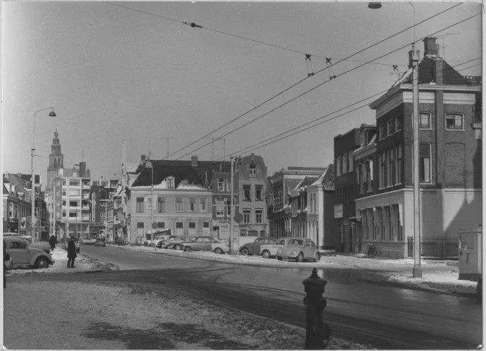 Rademarkt Oostzijde Groningen 1966