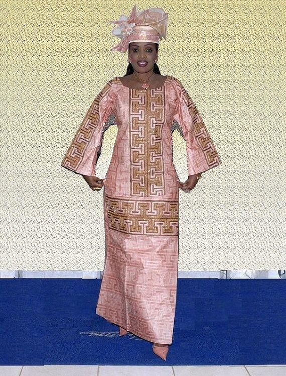 Chapeau wrapper et superbe tunique à manches par NewAfricanDesigns