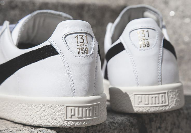 """The classic Puma Clyde silhouette returns with a new """"Home and Away"""" Pack featuring original Knicks-inspired colorways. Available today."""