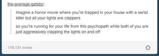 """Clap on, clap off: 