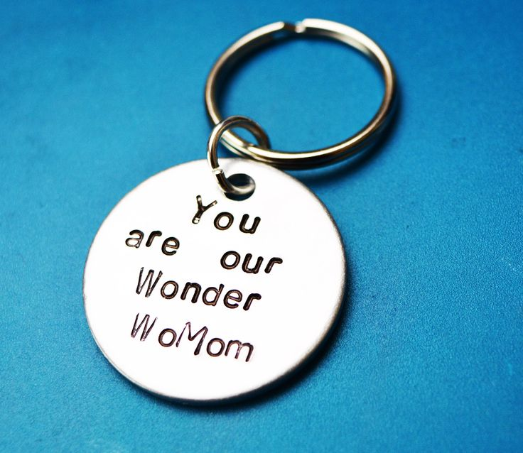 Mothers day gift, Our wonder womom, Personalised Mothers day gifts, UK, Mother keychain, gift for mother, mother Wonder woman ,my wo mom by BeesHandStampedGifts on Etsy #motherdaygifts