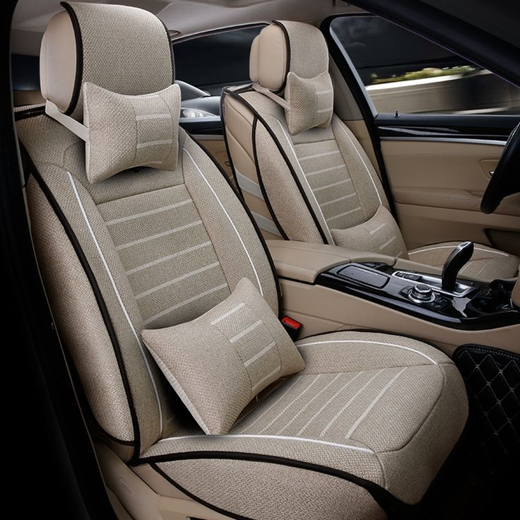 56.54$  Watch more here - http://aitkp.worlditems.win/all/product.php?id=32763969497 - Universal High quality linen car seat covers For Hyundai solaris ix35 i30 ix25 Elantra accent tucson Sonata car accessories