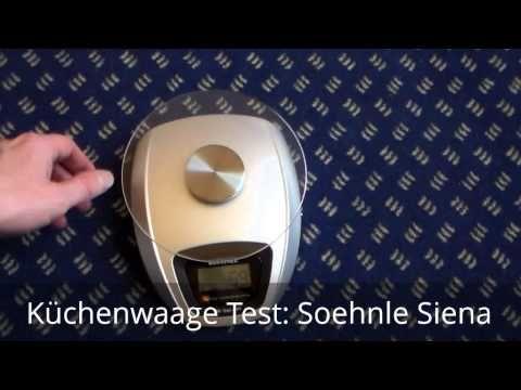 Küchenwaage Test: Soehnle Siena