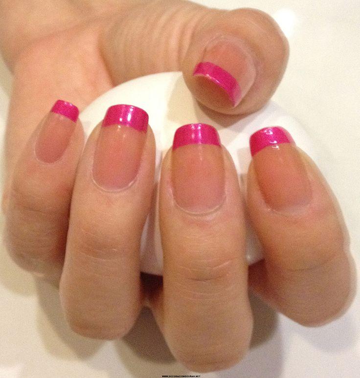 Uñas francesas o uñas french. Más de 70 fotos con diseños |Decoración de Uñ a s - Manicura y Nail Art