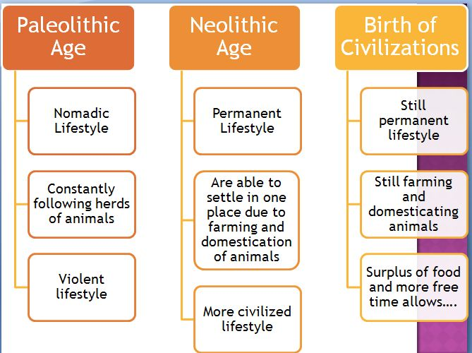 political effects of the neolithic revolution