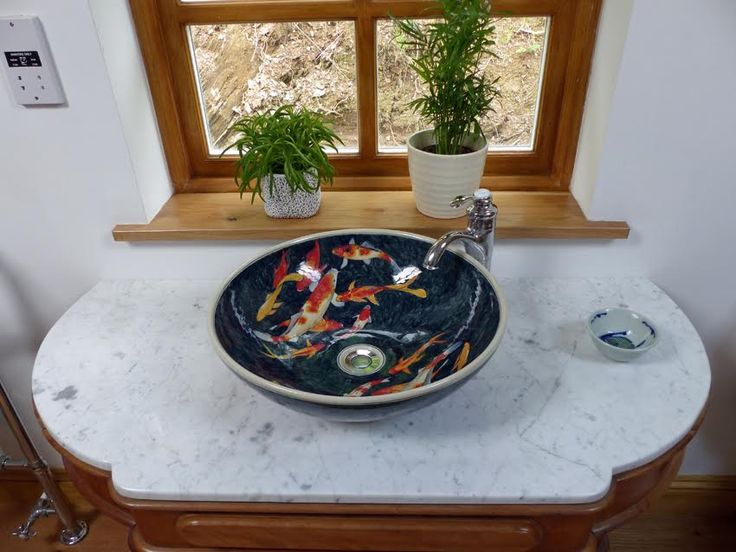 Bathroom Sinks Ebay Uk 127 best koi carp hand painted porcelain wash basin. images on
