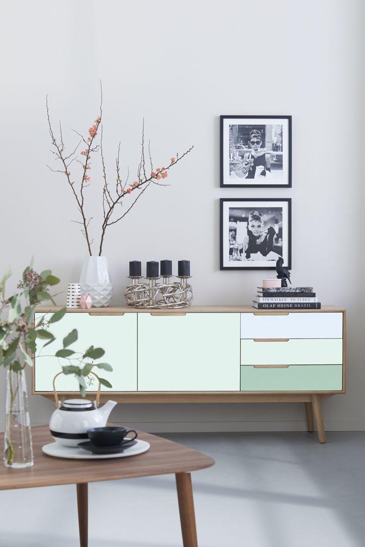 Vom Bloggen Zum Entwerfen Meine Roombeez Kollektion Mit Andas Nordic Interior Sideboard SkandinavischWohnbereichWohnzimmerTv