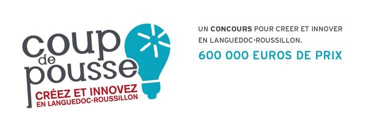 """""""Coup de pousse"""" est le concours de création d'entreprises innovantes et à potentiel de la Région Languedoc-Roussillon. Deadline: 12 octobre 2012"""