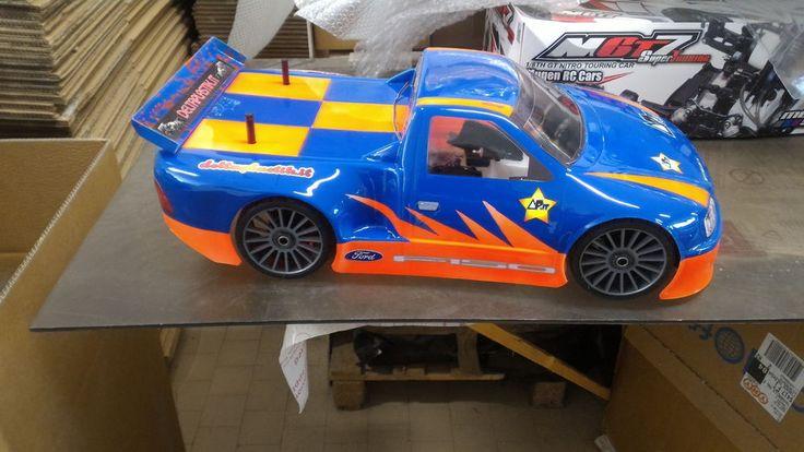 Thunder Truck 2mm RC Car Body Shell Oval NASCAR Ofna GT Gtp2e Traxxas Slash #DeltaPlastik