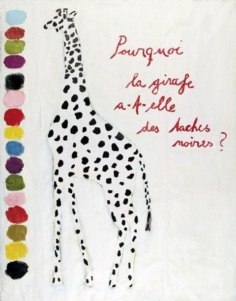 affiche girafe !