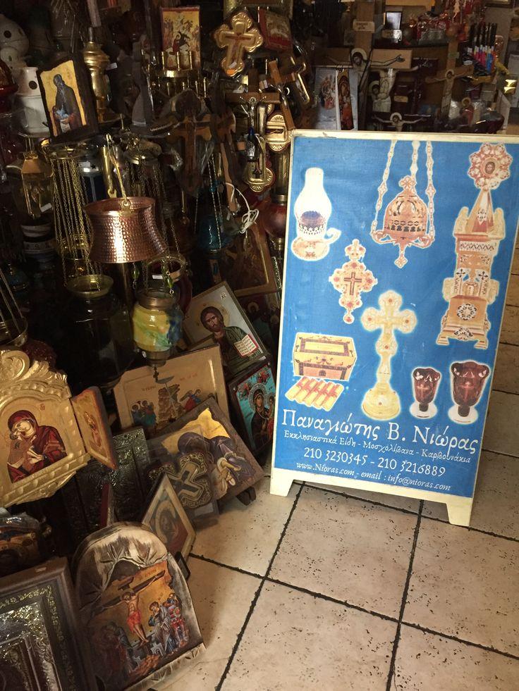 Nioras Panagiotis Athinas 41 Monastiraki Orthodox Religious Art Store @ www.nioras.com