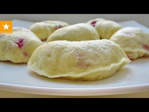 ВАРЕНИКИ С ВИШНЕЙ НА ПАРУ. Нежнейшее тесто для вареников с вишней от Мармеладной Лисицы - YouTube