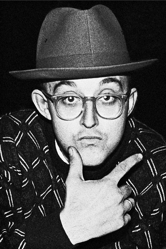 Keith Haring, one of my favorite artist's probably the most inspirational for a lot of my pieces