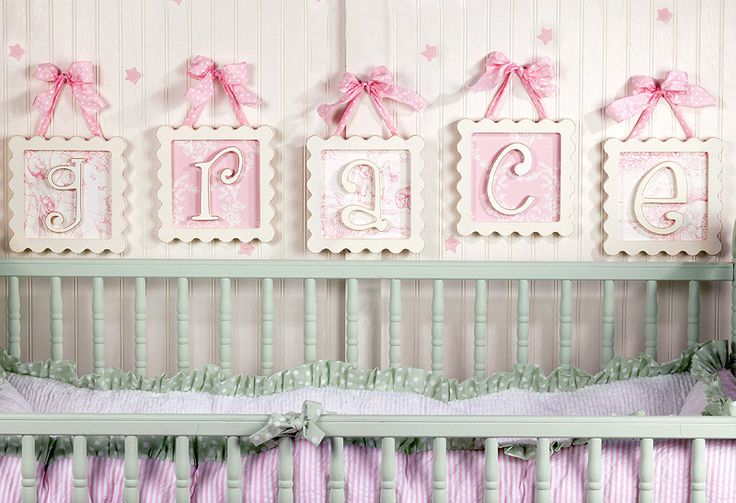 i can make this homemade. i need white frame, the background is two types of girlie fabrics and the lettering is cute