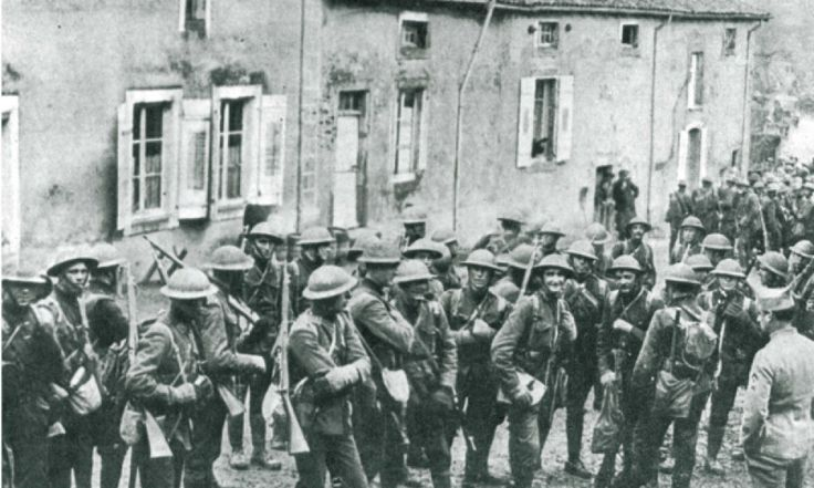 Today in #corpshistory: 1918 - The 4th Marine Brigade sustained 1,972 casualties in an attack at Soissons, France.