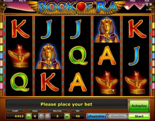 slot online book of ra