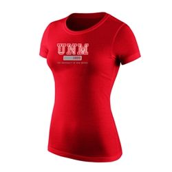 Women's Jansport T-Shirt UNM 1889 The University Of New Mexico Red