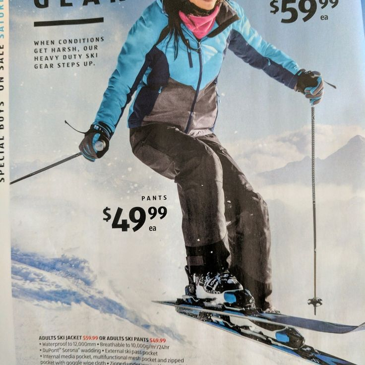 ALDI Snow Gear Sale - Starts 20 May