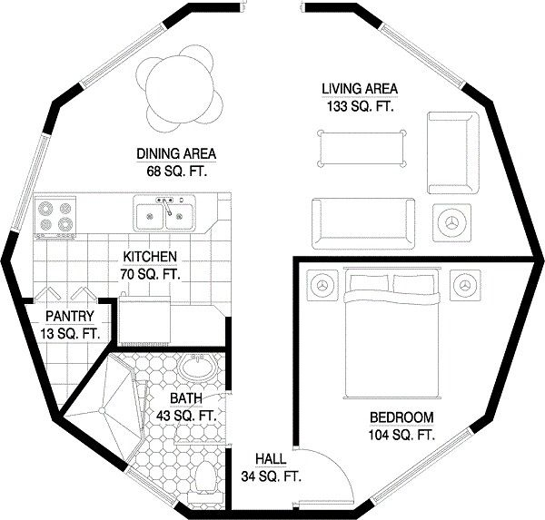 Layouts For Dome Homes Plans: Mother-in-law Suites Images On