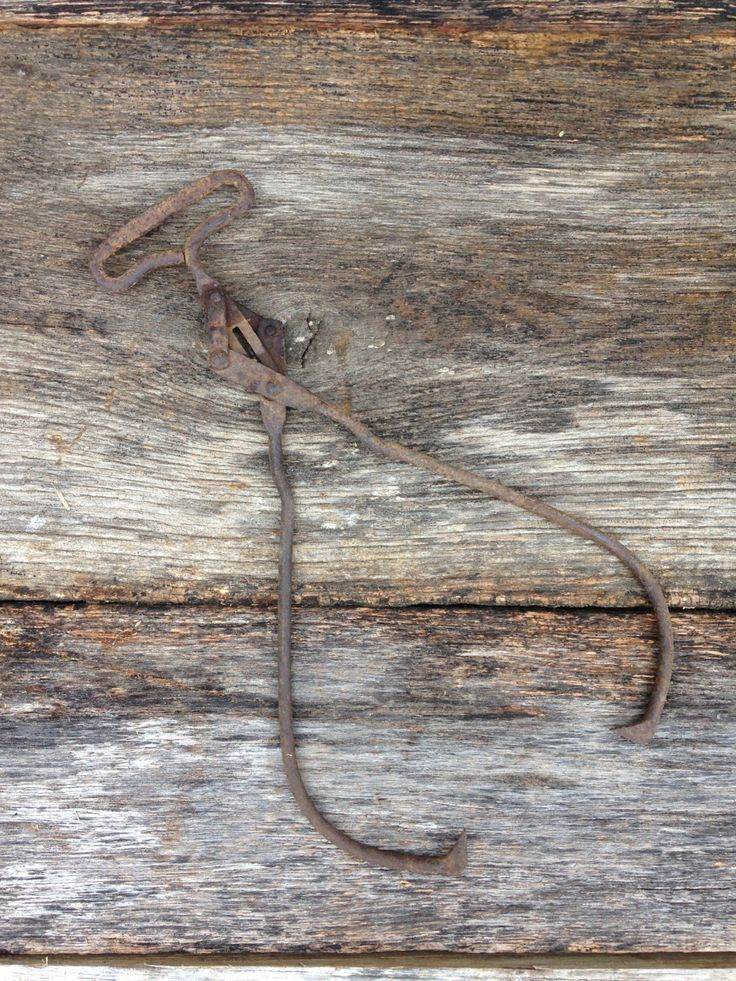 Vintage Ice Tongs by RusticBackroads on Etsy