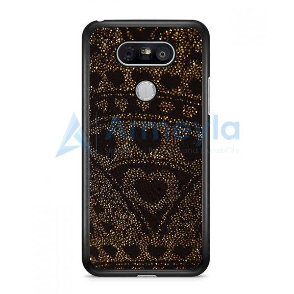 Asos Leggings In Glitter Heart LG G5 Case | armeyla.com