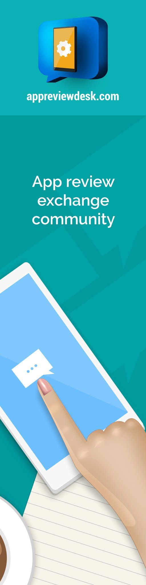 Mobile App Review Exchange Community