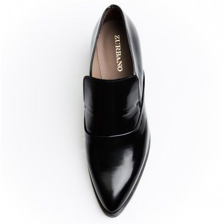 Zurbano | Black Loafer - Elegant black patent leather loafers | Women FW15 collection
