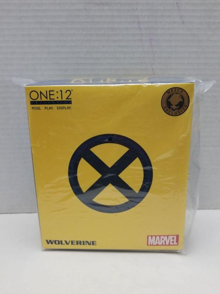 Mezco Toyz One:12 Collective Tiger Stripe Wolverine 2017 NYCC Exclusive Yellow #Mezco #one:12 #wolverine #x-men #xmen