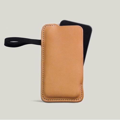 Handmade Leather phone case for iphone 5, Leather Phone Sleeve,Custom Phone Case -hiram beron