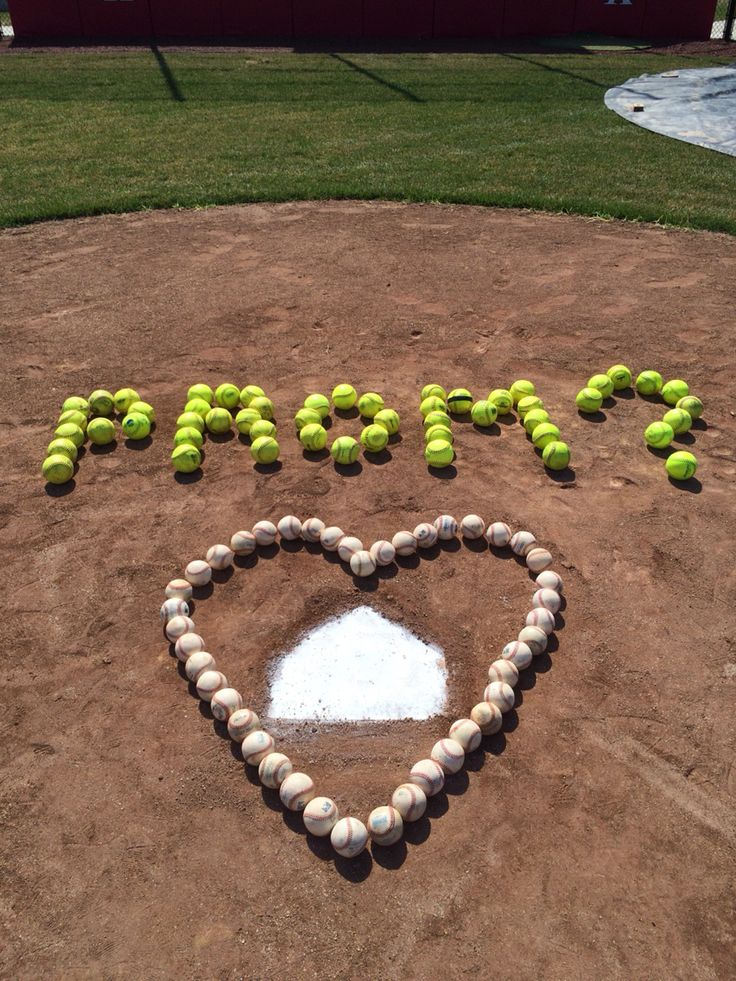 Baseball / Softball Prom Proposals