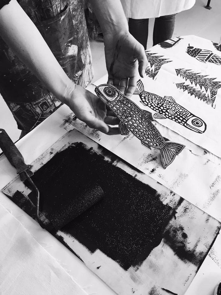 Block Printing Workshop with Lichen & Leaf