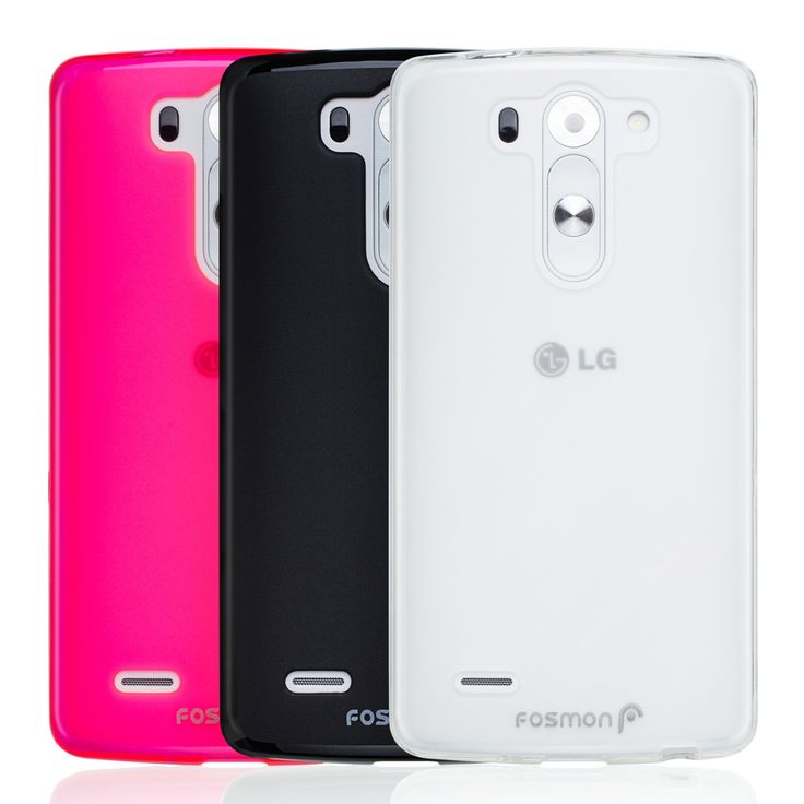 Slim, protective, basic case for LG G3 S / Vigor. Fosmon DURA-FRO Flexible TPU Case for LG G3 S / LG G3 Vigor / LG G3 Beat - Assorted Colors #SFplanet #Fosmon