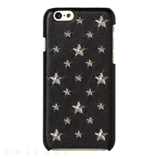 【iPhone6s/6 ケース】mononoff 605 Star's Case (ブラック)
