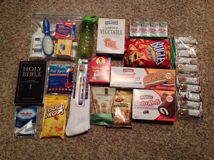 Make homeless care packages for the less fortunate this year. Here's a list of the items I put in my care packages: Holy Bible, granola bars, crackers, nuts, raisins, chips, cookies, deodorant, chapstick, hand sanitizer, bar soap, toothbrush, toothpaste, floss, waterproof bandaids, hair brush, lotion, hand warmers, socks, hats, gloves, and a water bottle. All of the items shown I got at the dollar store. I also bought a back pack at a thrift shop for $2 to put all the supplies in.
