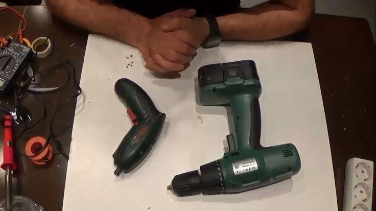 Como arreglar destornillador eléctrico