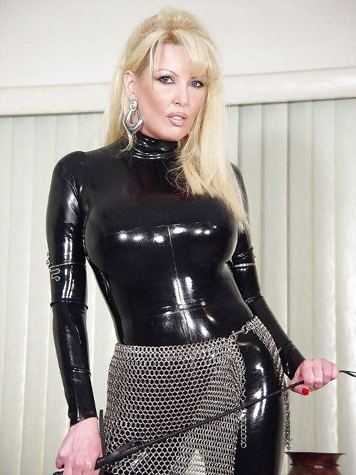 Facebook dominatrix blond