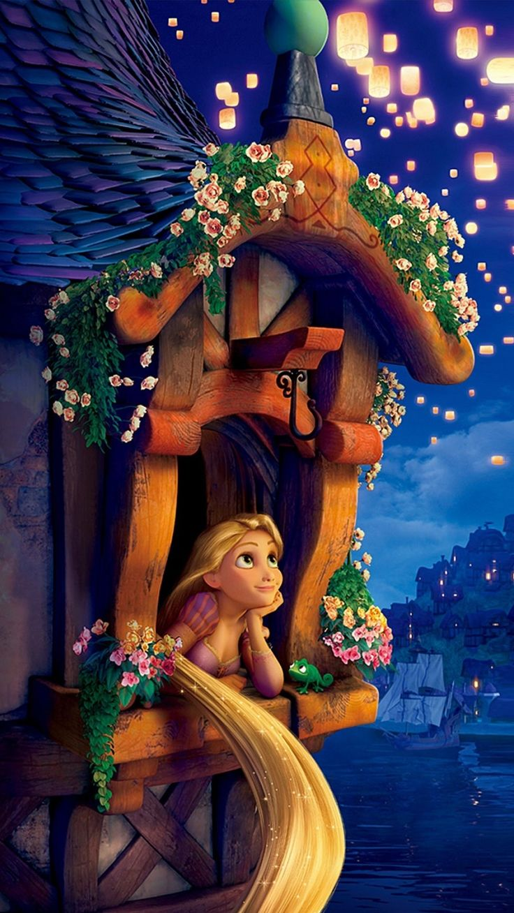 Wallpaper iphone rapunzel - Rapunzel Find More Disney Wallpapers For Your Iphone Android Prettywallpaper